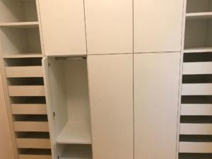 Progettazione di arredamenti su misura per camere , camerette disimpegni e per tutta la casa .