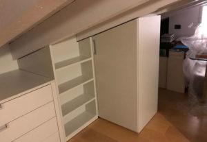 Studiamo la progettazione e la realizzazione di cabine armadio su misura Milano e provincia a prezzi di fabbrica